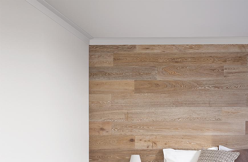 Linear 75mm Square Edge Profile Decorative Cornice